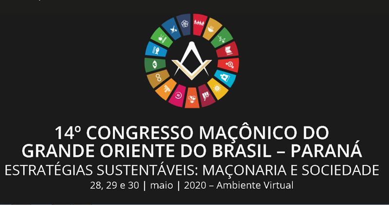 CONGRESSO ESTADUAL MAÇÔNICO SERÁ REALIZADO NOS DIAS 28, 29 E 30 DE MAIO