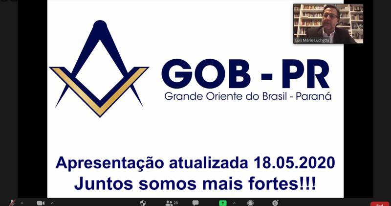 GRÃO-MESTRADO CHEGA A MARCA DE 9 REUNIÕES COM REGIÕES MAÇÔNICAS DO GOB-PR